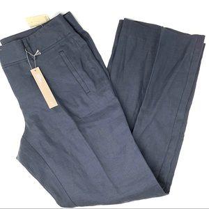 Ann Taylor Loft Petite Linen Marisa Trouser Pants